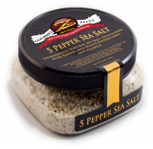 5 Pepper Sea Salt